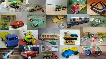 Koupím staré hračky