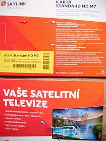 satelitní karta Skylink standart HD M7