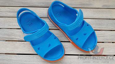 Prodám modré dětské sandály vel. 32/33