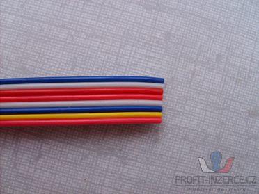 kabel plochý barevný licna 8x0,15
