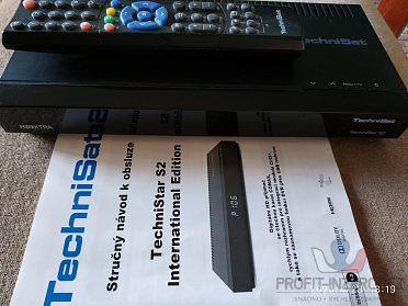 Prodám satelitní přijímač TechniStar S2