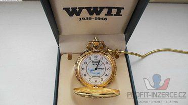 Hodinky kapesní WWII boj o Iwo Jimu