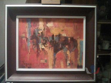 Prodám originál pěkné abstrakt obrazy !!
