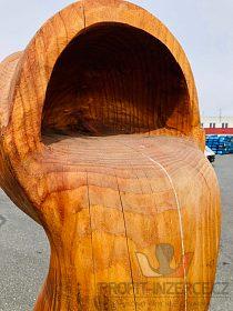 """Dřevořezba """"Věčné vědro"""""""