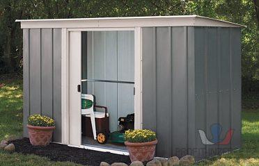 Plechový domek na zahradu