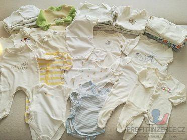 kojenecký set s oblečením