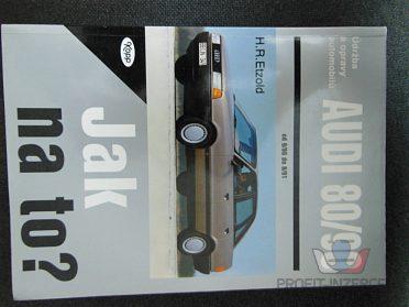 Servisní knihy, Favorit, Audi 80