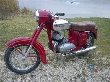 Koupím JAWA 350 z 60tých let bez dokladu