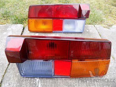 Koupím zadní světla na Škoda 105, 120M