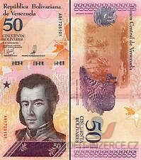 VENEZUELA - 50 Bolivares - stav UNC