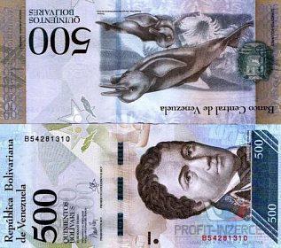 VENEZUELA - 500 Bolivares - stav UNC