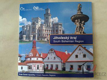 sada mincí ČR 2009 Jihočeský kraj UNC