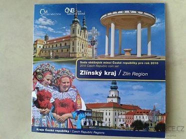 sada mincí ČR 2010 Zlínský kraj UNC