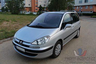 Peugeot 807 2.0HDI, 100kW, el. dveře