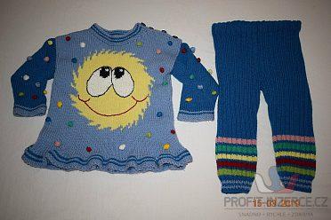 Balík zimního oblečení na holku 92-104