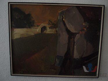 prodám obraz od ak.malíře Václav Vozáb