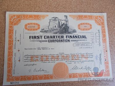 FIRST CHARTER FINANCIAL - staré akcie