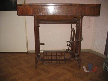 Šicí stroj stolový sklopný s lit.podstav