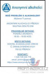 MÁŠ PROBLÉM S ALKOHOLEM?