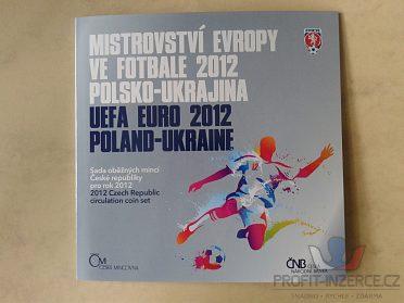 sada mincí ČR 2012 ME ve fotbale UNC