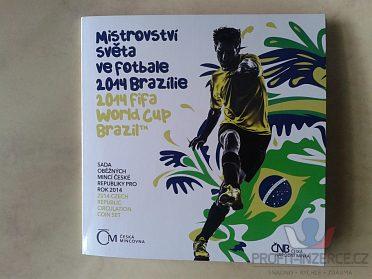 sada mincí ČR 2014 MS ve fotbale UNC