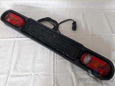 Osvětlovací rampa nosiče