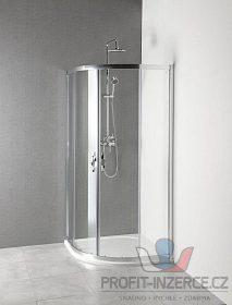 Sprchový kout vanička litý mramor