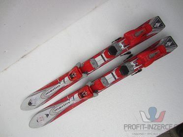 Dětské lyže K2 Merlin, 80cm, Marker M1.2