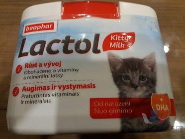 Mléko pro koťata od narození