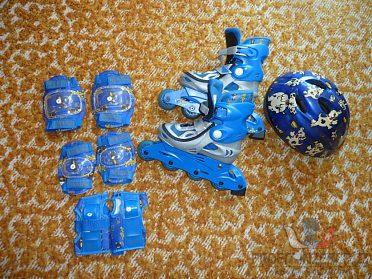 Prodám dětské Inline brusle - set