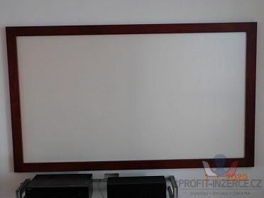Projekční plátno pro domácí kino, 202 cm