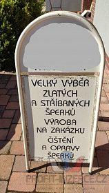 Reklamní stojan áčko 51 x 111 cm