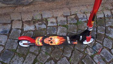 Skládací koloběžka Sulov Devil Rider