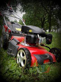 Údržba zeleně - sečení trávy