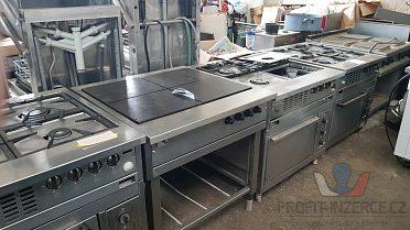 Zařízení profi kuchyně funkční!