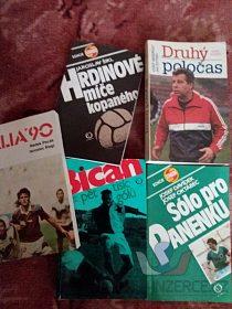 Starší knihy o fotbale