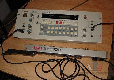 Akai EWI-2000 & EWV-2000