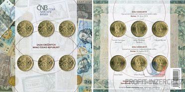 pamětní oběhové mince 20 Kč 2018, 2019