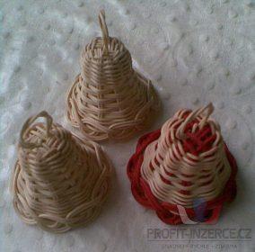 Prodám ručně pletené zvonečky z pedigu