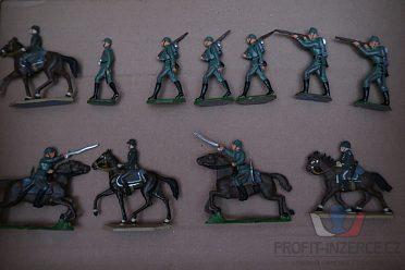 vojáčci, figurky, cínové