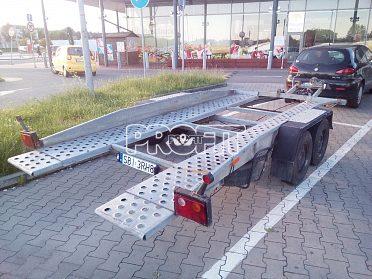 Přepravník sklopný na auta - přívěs 2t