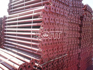 Sklopné podpěry 3 m stěnové bednění