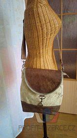 kabelka v industriálním stylu
