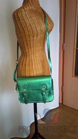 nová zelená kabelka přes rameno