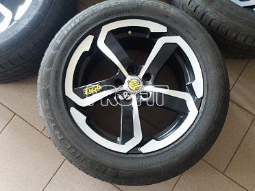 Disky s letními pneu pro VW Tiguan
