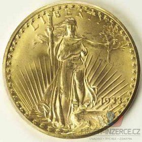 Zlatý US Pěti a Dvaceti dolar