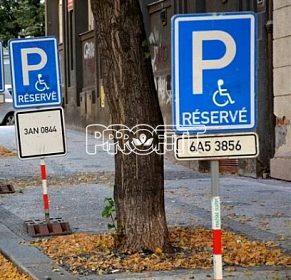 Koupím značku pro parkování