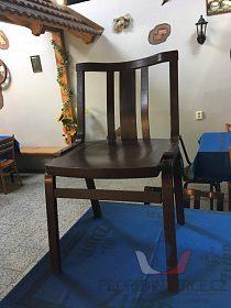Prodám starší restaurač. židle z hospody