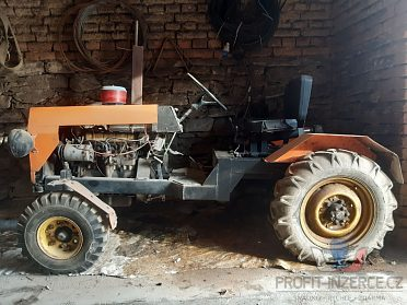 Prodám traktor domácí výroby