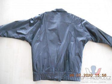 Prodám dámskou koženou bundu černou